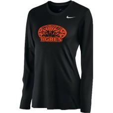 Ventura Tigres 15: Nike Women's Legend Long-Sleeve Training Top - Black