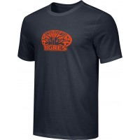 Ventura Tigres 16: Adult-Size - Nike Combed Cotton Core Crew T-Shirt - Black