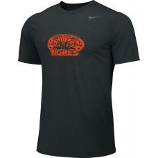 Ventura Tigres 10: Adult-Size - Nike Team Legend Short-Sleeve Crew T-Shirt - Black