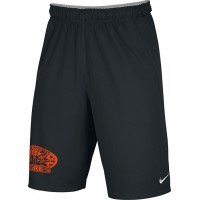 Ventura Tigres 24: Adult-Size - Nike Team Fly Athletic Shorts - Black