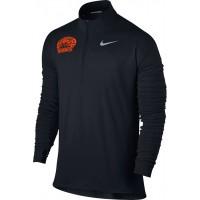 Ventura Tigres 20: Nike Element Men's Long Sleeve Running Top - Black